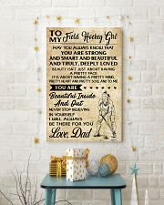 TO MY FIELD HOCKEY dad 11x17 Poster lifestyle-holiday-poster-3