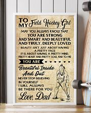TO MY FIELD HOCKEY dad 11x17 Poster lifestyle-poster-4
