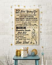 TO MY FIELD HOCKEY dad 24x36 Poster lifestyle-holiday-poster-3