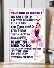 Take care of yourself - SKATING 11x17 Poster lifestyle-poster-4