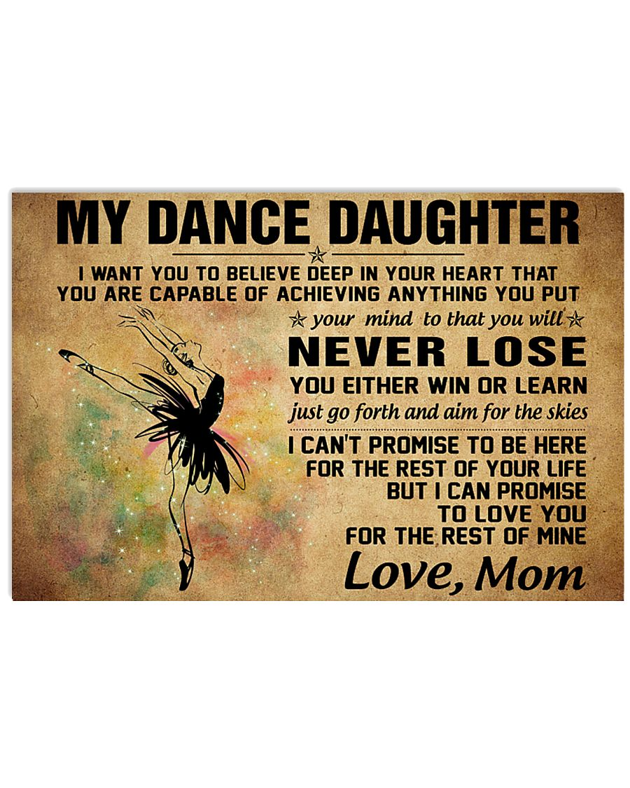 never lose my dance 17x11 Poster