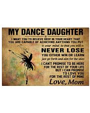 never lose my dance 17x11 Poster front