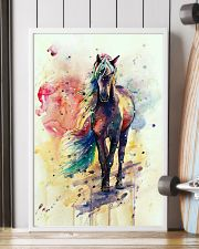HORSE PAINT ART WATERCOLOR SKY 16x24 Poster lifestyle-poster-4
