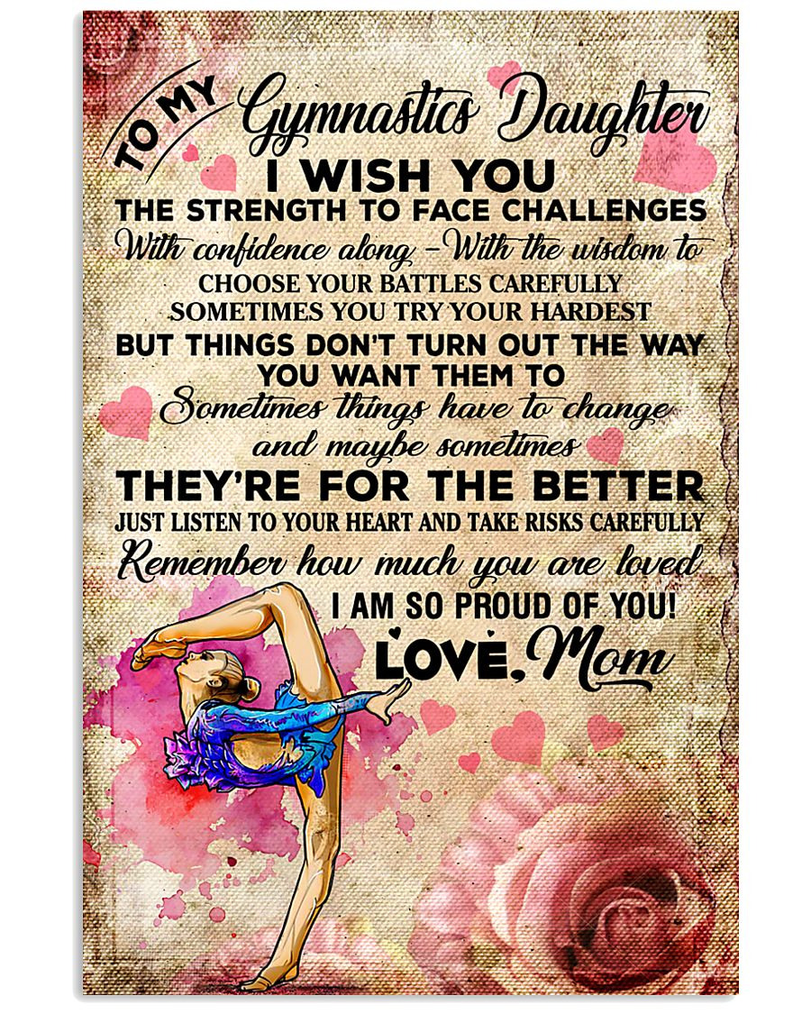 For The Better - Gymnastics 11x17 Poster