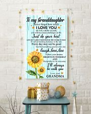 2 TO MY GRANDDAUGHTER I LOVE YOU POSTER 11x17 Poster lifestyle-holiday-poster-3