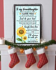 2 TO MY GRANDDAUGHTER I LOVE YOU POSTER 11x17 Poster lifestyle-holiday-poster-4