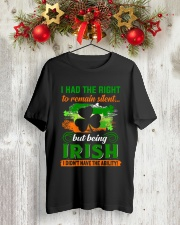 I had the right - IRISH Classic T-Shirt lifestyle-holiday-crewneck-front-2