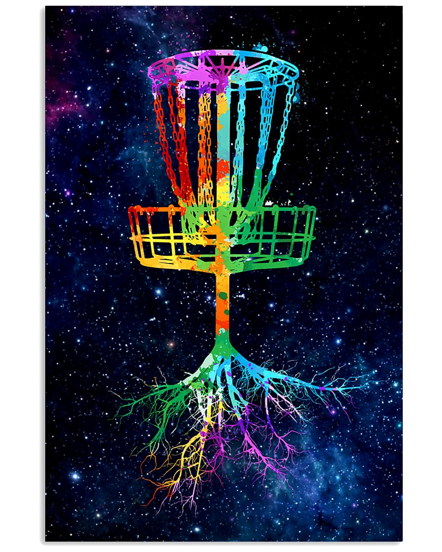 17 DISC GOLF TREE ROOT POSTER 11x17 Poster