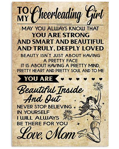 TO MY Cheerleading Girl - MOM