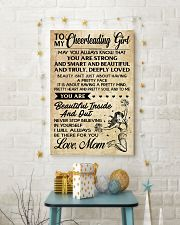 TO MY Cheerleading Girl - MOM 16x24 Poster lifestyle-holiday-poster-3
