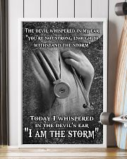 I AM THE STORM 11x17 Poster lifestyle-poster-4