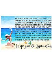 I HOPE YOU DO GYMNASTICS KD 17x11 Poster front