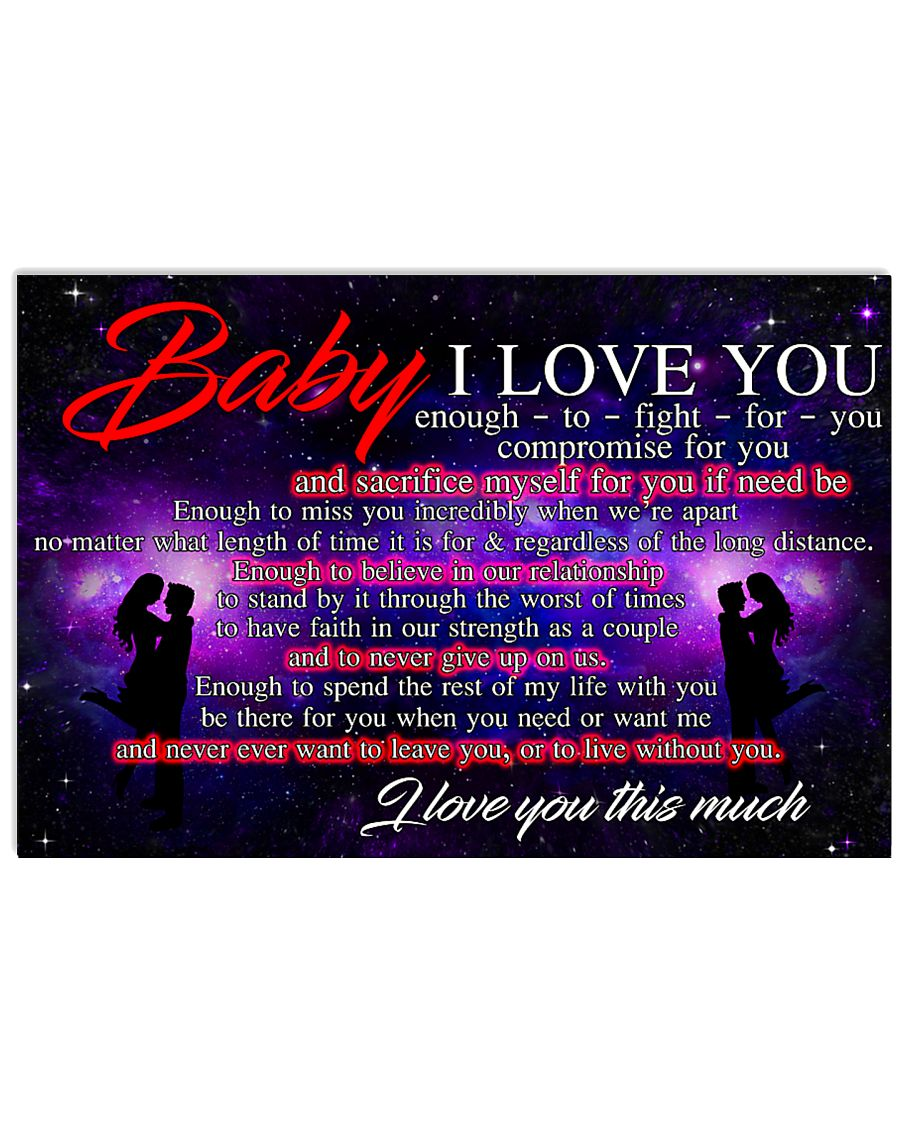BABY I LOVE YOU 17x11 Poster