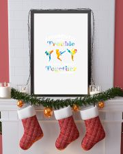APPARENTLY WE'RE TROUBLE TAEKWONDO 11x17 Poster lifestyle-holiday-poster-4