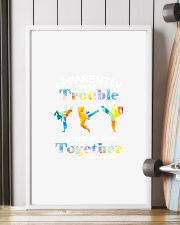 APPARENTLY WE'RE TROUBLE TAEKWONDO 11x17 Poster lifestyle-poster-4