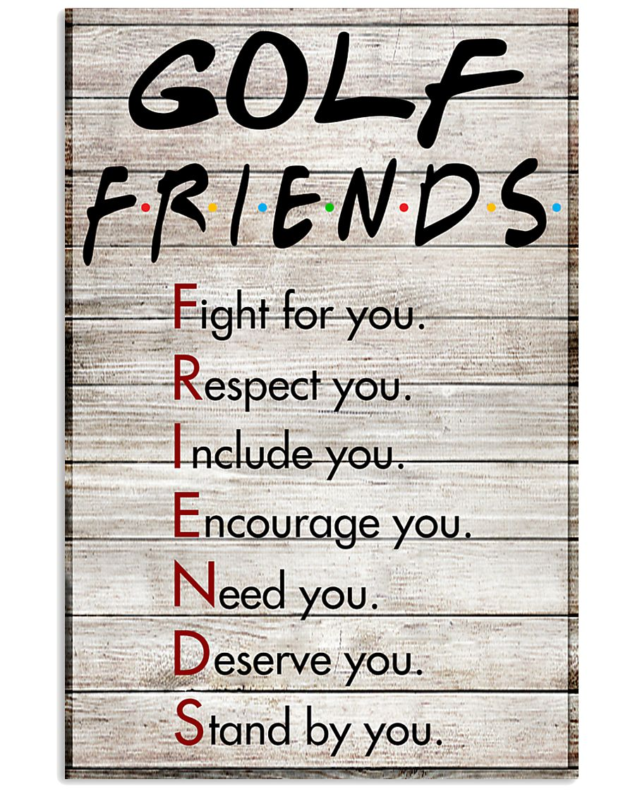Golf Friends - Poster 11x17 Poster