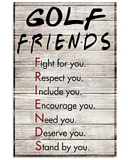 Golf Friends - Poster 11x17 Poster front