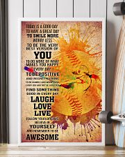 softball- TODAY IS A GOOD DAY POSTER 2 16x24 Poster lifestyle-poster-4
