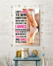 I DON'T DANCE TO WIN COMPETITION 11x17 Poster lifestyle-holiday-poster-3