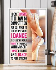 I DON'T DANCE TO WIN COMPETITION 11x17 Poster lifestyle-poster-4