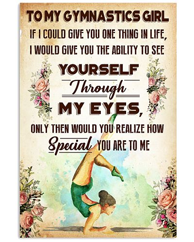 TO MY GYMNASTICS GIRL - YOU ARE TO ME