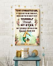 TO MY GYMNASTICS GIRL - YOU ARE TO ME 11x17 Poster lifestyle-holiday-poster-3