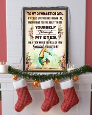 TO MY GYMNASTICS GIRL - YOU ARE TO ME 11x17 Poster lifestyle-holiday-poster-4
