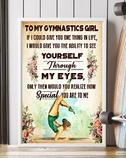 TO MY GYMNASTICS GIRL - YOU ARE TO ME 11x17 Poster lifestyle-poster-4