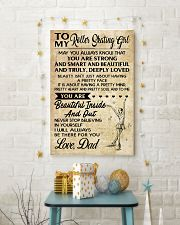 TO MY ROLLER SKATING - LOVE DAD 16x24 Poster lifestyle-holiday-poster-3
