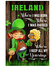Ireland Where I was born Poster 11x17 Poster front
