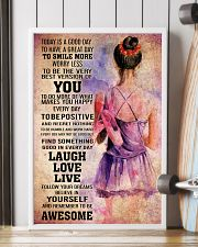 DANCE- TODAY IS A GOOD DAY POSTER 2 16x24 Poster lifestyle-poster-4