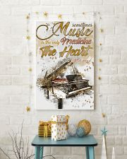 Piano Medicine The Heart Poster 11x17 Poster lifestyle-holiday-poster-3
