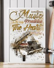 Piano Medicine The Heart Poster 11x17 Poster lifestyle-poster-4