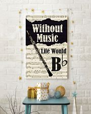 WITHOUT MUSIC LIFE WOULD - OBOE POSTER 11x17 Poster lifestyle-holiday-poster-3