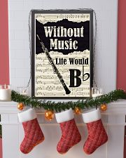 WITHOUT MUSIC LIFE WOULD - OBOE POSTER 11x17 Poster lifestyle-holiday-poster-4