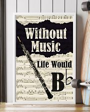 WITHOUT MUSIC LIFE WOULD - OBOE POSTER 11x17 Poster lifestyle-poster-4