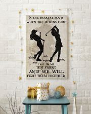 Golf Fight Them Together Poster 11x17 Poster lifestyle-holiday-poster-3