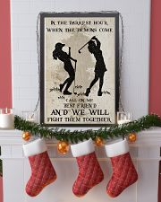 Golf Fight Them Together Poster 11x17 Poster lifestyle-holiday-poster-4