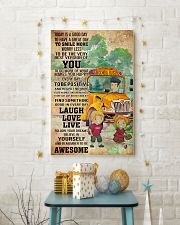 SCHOOL BUS- TODAY IS A GOOD DAY POSTER 11x17 Poster lifestyle-holiday-poster-3