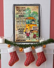 SCHOOL BUS- TODAY IS A GOOD DAY POSTER 11x17 Poster lifestyle-holiday-poster-4