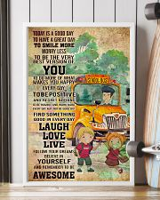 SCHOOL BUS- TODAY IS A GOOD DAY POSTER 11x17 Poster lifestyle-poster-4