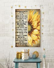 Pharmacist's prayer let me Dedicate my life Poster 11x17 Poster lifestyle-holiday-poster-3