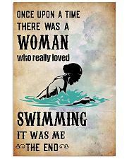swimming- once upon a time poster 11x17 Poster front