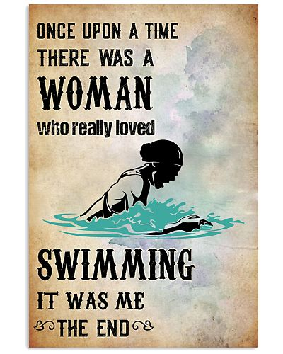 swimming- once upon a time poster