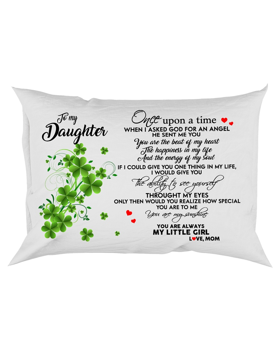 TO MY DAUGHTER- ONE UPON A TIME POSTER- MOM Rectangular Pillowcase