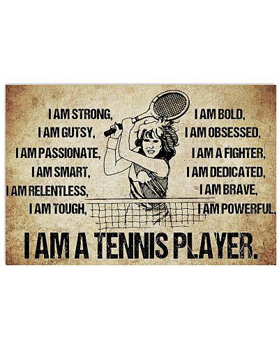 Tennis - I Am Poster - SKY
