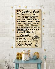 TO MY  Skating Girl - DAD 16x24 Poster lifestyle-holiday-poster-3