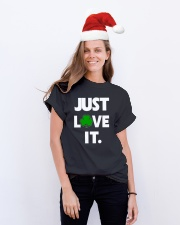 JUST LOVE IT-IRISH Classic T-Shirt lifestyle-holiday-crewneck-front-1