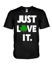 JUST LOVE IT-IRISH V-Neck T-Shirt thumbnail