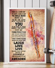 FLUTE - TODAY IS A GOOD DAY POSTER 11x17 Poster lifestyle-poster-4